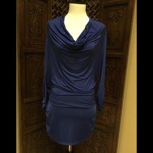 Cache dress Gorgeous Blue color Size M